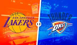 NBA HOY | Lakers vs Thunder LIVE STREAM FREE REDDIT ESPN ONLINE resultados  NBA EN VIVO partidos de básquet: fecha, horario para ver juegos de  baloncesto EN DIRECTO y dónde ver