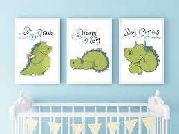 il 570xn on baby boy room decor wall art with diy printable 3 dragon wall art 8 x10 digital download fairy