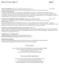 resume sample labor relations executive page 2 senior attorney resume