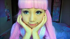 how to look like a doll kawaii enlarge doll eye makeup tutorial makeup beauty should watch