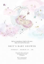 baby girl invite baby shower invitation templates free greetings island