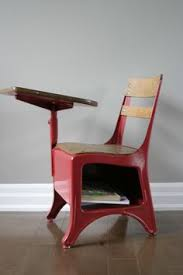 wooden school desk and chair. Vintage School Desk Chair Combo Metal And Wood 1930\\\u0027s Photo Details - These Wooden