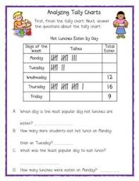 Tally Chart Worksheets Grade 4 13 Best Tally Chart Images Tally Chart Math Worksheets Math