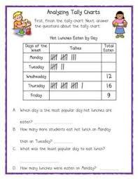 13 Best Tally Chart Images Tally Chart Math Worksheets Math