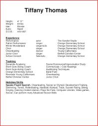Modeling Beginner Resume Resume Beginner Resume Template 11