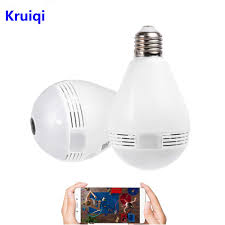 <b>Kruiqi</b> Home Security 360 Degree <b>IP Camera</b> 1080P 2MP Fisheye ...