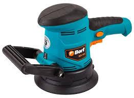 Эксцентриковая шлифмашина <b>Bort BES</b>-<b>450</b> — купить по ...