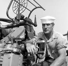 Ww2 Wwii Photo Us Navy Gunners Mate 40mm Uss Edsall De 129 World War