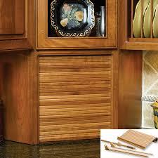 Kitchen Tambour Door Kit Omega National Products 30 Wide Tambour Door Kit Red Oak C02