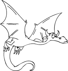 Breathtaking Flying Dragon Coloring Pages Suspicious Page Free
