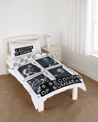 Seconds Bedroom Furniture 5 Sos Duvet Single 140 X 200 Cm Black White Simbashopnl