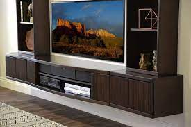 floating tv stand wall mount