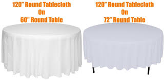 what size tablecloth for a 72 round table starrkingschool regarding what size tablecloth for 60 round table