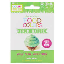 Colorkitchen Decorative Food Colors From Nature Green 1 Color