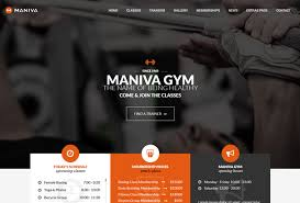 gym website design 35 best wordpress fitness themes for gyms personal trainers