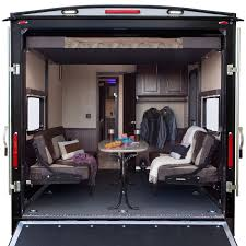 xlr hyperlite travel trailer toy haulers now available at colonia del rey rv s center