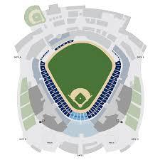 kauffman stadium map  kansas city royals