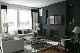 Black Living Room Walls Centerfieldbar Com