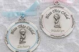 baptism blessings personalized crib medallion personalized crib medallions bless this child