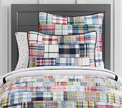 Madras Quilt | Pottery Barn Kids &  Adamdwight.com