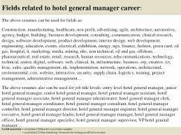 General Manager Resume Cover Letter Samples Elegant Resume Hotel