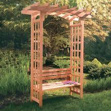 pdf diy cedar arbor bench plans carport designs