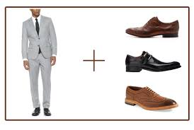 Shoes With Light Grey Pants How To Match Mens Shoes With Pants 101fashiontips Com