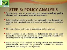 Policy Analysis Template – Mklaw