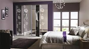 master bedroom wardrobe interior design. Interesting Interior Contemporary Floral Sliding Wardrobe Doors Throughout Master Bedroom Interior Design