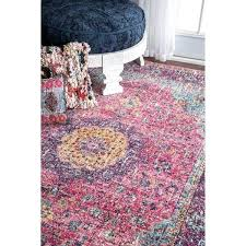 opal pink bohemian area rug no reviews previous nuloom vintage persian medallion 8x10