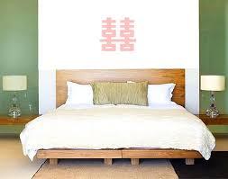bedroom feng shui design. Double Happiness Symbol Above Bed Bedroom Feng Shui Design M