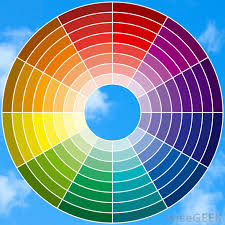 a color wheel helps choose color schemes such as complementary colors best colors for an office