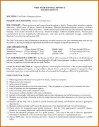 Unit Clerk Cover Letter 4 5 Er Registration Clerk Job Description Leterformat