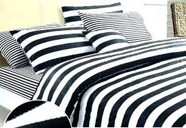 black white striped sheets and bedding sets quilt full twin xl