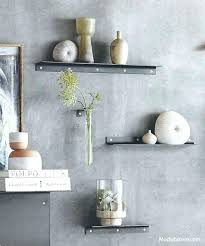 thin white floating shelf narrow wall shelves fresh roost set of 2