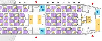find airline cabin seat layout plans