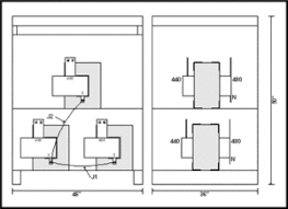buck boost non isolated transformers l c magnetics 480 To 208 Transformer Diagram buck transformer, 2 mva, input 480 vac, output 440 vac, p 480 to 208 volt transformer diagram