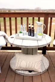 diy outdoor farmhouse table. DIY Farmhouse Style Wood Spool Table Ideas. Tutorial To Make A Side From Diy Outdoor