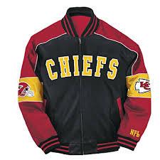 Leather Jacket City Kansas Chiefs