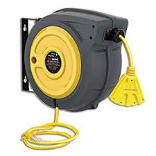 REELWORKS Newest Tech Extension Cord Reel ... - Amazon.com