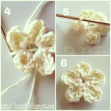 Small Crochet Flower Pattern Unique Decorating