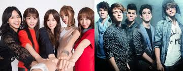 Mexican Pop Charts Mexican Boy Group Cd9s Song Ft Crayon Pop Ranks 2nd In