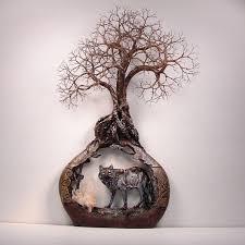 diy wire tree wall art
