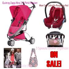 quinny zapp xtra 2 0 folding seat stroller combined with maxi cosi cabriofix car seat at a great