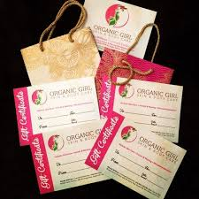 Gift Certificates Available Call To Have Them Your Organic
