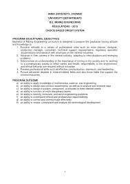 CBCS Mining Syllabus - Docsity