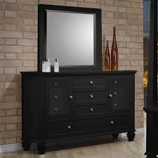 Good ... Home Elegant Cheap Black Dresser 22 Wood Furniture Natural Brick Wall  Polished Hardwood Flooring Wooden Dressing ...
