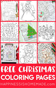 Coloring Pages Printable Coloring Sheets For Kids Christmas