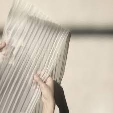paper mold origami fabrics 1 linear pleats