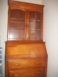 furniture get your work done with the help of lovely antique secretary desk with hutch square decor fabulous home interior ideas
